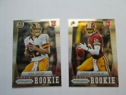 2012 KIRK COUSINS PANINI PRIZM #277 ROOKIE RC And RG3 SP $24.99