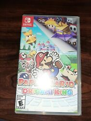 Paper Mario The Origami King Standard Edition Game Nintendo Switch 2020 NEW Seal $48.99
