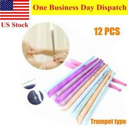 12PC Ear Wax Candles Beeswax Cones Hollow Candle for Relax Cleaning $12.86