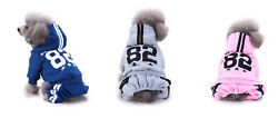 Legs Pet Dog Clothes Cat Puppy Coat Winter Hoodies Warm Sweater Jacket Clothing $5.99