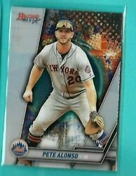 2019 Bowman#x27;s Best Pete Alonso ROOKIE CARD METS STAR QTY $5.98