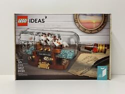 LEGO 21313 Ship in a Bottle Ideas BRAND NEW SEALED $89.90