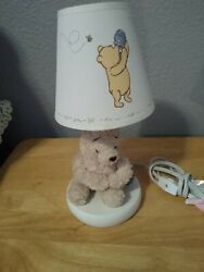 Classic Winnie The Pooh Disney Lamp With Shade $34.99