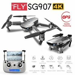 SG907 5G WIFI 4K RC Drone w Dual Camera GPS MV Interface Video Quadcopter Black $60.69