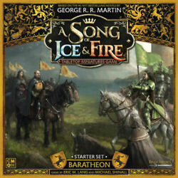A Song of Ice and Fire Miniature Game Baratheon Starter NIB $90.00