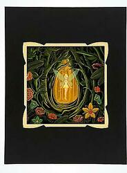 WonderGround Little Lantern Tinker Bell Deluxe Print by Dave Quiggle $119.98