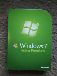Microsoft Windows 7 Home Premium Upgrade with product Key 32 and 64 bit $28.50