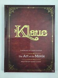 Klaus: The Art of the Movie. Out of Print. Hardcover Animation Book Mint Sealed $90.00