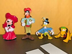 DISNEY PIRATES of the CARIBBEAN FIGURE LOT GOOFY PLUTO MINNIE MOUSE 2quot; 3.25quot; $16.99