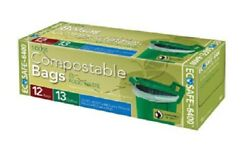 Presto GKL032194 2 Trash Bag Compostable 13 Gallon $11.43