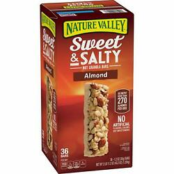 Nature Valley Sweet and Salty Nut Granola Bars Almond Snack Bars 36 ct. $15.99