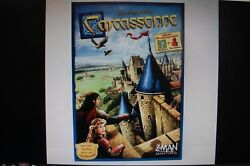 Carcassonne by Klaus Jurgen Wrede Includes Mini Expansions The River amp; The Abbot $14.99