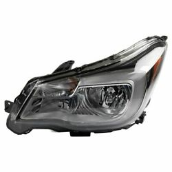 Halogen Headlight Lamp Assembly Driver Side LH for 17 18 Subaru Forester $144.69