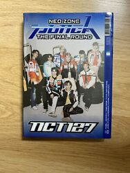 NCT127 Neo Zone Punch The Final Round Repackage 1st Player VER. No Pc Postcard $5.00