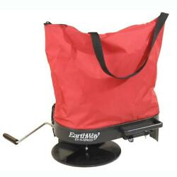 Hand Crank Fertilizer Spreader Nylon Bag Grass Seed Salt Lawn Garden Seeder 20lb $67.48