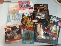 star wars vintage collectibles lot $11.40