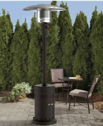 Mainstays Large Outdoor Patio Heater Powder Coat Brown Offers Encouraged $250.00