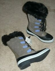 GIRLS SIZE 4 WINTER SNOW PAC BOOTS GRAY by CAT amp; JACK BRAND NEW $17.95