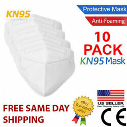 10 Pack KN95 MEDICAL Face Mask Cover Protection Respirator Masks KN 95 5 Layer $10.49
