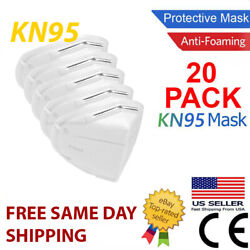 NEW 10 Pack KN95 BLACK Face Mask Cover Protection Respirator Masks KN 95 5 Layer $14.95