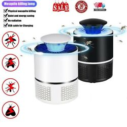 Electric UV Mosquito Killer Lamp Outdoor Indoor Fly Bug Insect Zapper Trap USB $9.45