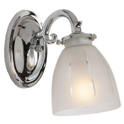 JVI Designs 823 06 Traditional Brass Bathroom Vanity Light Polished Chrome $63.75