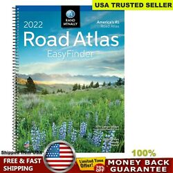 USA Road Atlas Spiral Bound United States Travel Map Midsize Edition Update 2021 $13.11