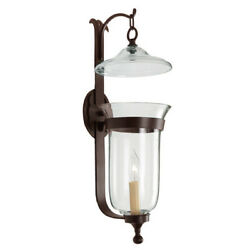 JVI Designs 325 17 Traditional Brass Wall Sconce Pewter $210.00