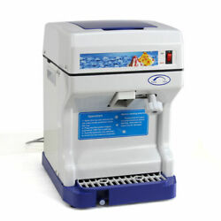 Tabletop Electric Ice Shaver Machine Ice Crusher Shaved Ice Snow Cones Maker $39.99