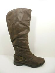 NEW Womens Wide Calf BARE TRAPS SHERIDAN Knee High Boots Size US 9.5 M $34.99