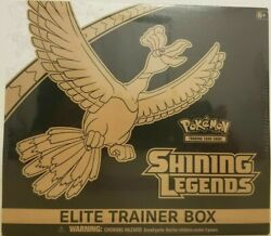 *Ships Today* Pokemon TCG Shining Legends Elite Trainer Box IN HAND $100.00