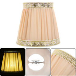 Light Cover Modern Cloth Art Lamp Shades Mutilcolor Ceiling Chandelier6 Colors $9.49