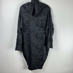 Morph Clothing Sz XS Black Modal Capsule Dress All in one Dress Convertible $99.99