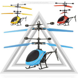 Mini Nano Remote Control RC LED Light Helicopter Kids Toy Micro Drone 2CH Gift $17.99