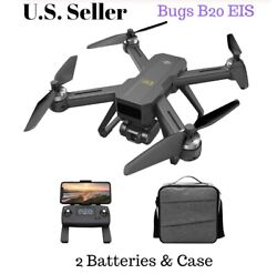 MJXR C Bugs 20 B20 EIS 4k Camera Drone Quadcopter Brushless 2 Batteries amp; Case $262.99