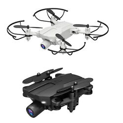 Portable Mini FPV Drone RC Foldable Aircraft Quadcopter HD Aerial Photography $27.43