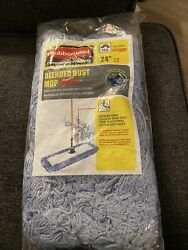 New Yarn Rubbermaid Commercial Products blended dust mop refill 24quot; 086876222067