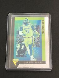 2019 20 Panini Chronicles Flux Lebron James SP #591 Lakers $14.99
