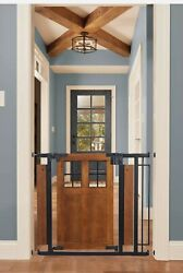 Evenflo Barn Door Walk Thru Baby Pet Gate Farmhouse Collection $280.00