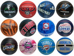 🔥🔥 Spalding Basketball Arena Exclusive Team Logo Mini 22quot; Gifts for Kids $12.50