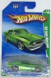 2010 Hot wheels Treasure Hunts #x27;69 Ford Mustang Limited Edition Rare #12 Of 12 $9.00