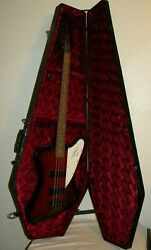 Epiphone Thunderbird Bass Guitar with Hard Red Lined Coffin Case $275.00