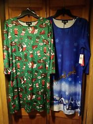 Dress Works Women#x27;s Holiday Dresses NWT $14.99