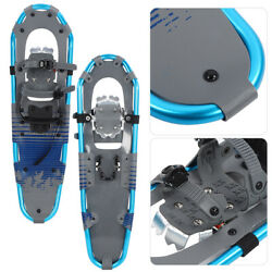 Outdoor Sports 30#x27;#x27; SNOWSHOES Men Women Snow Slipping Aluminum Frame w Bag USA $63.37