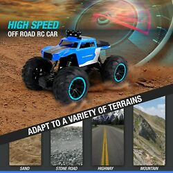 RC Electric Truck Remote Control Car Toy Off Road Monster Crawler Boys $23.98