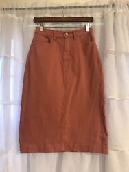 The Main Street Exchange Size 6 NWT quot;Leahquot; Pink Skirt Women#x27;s $25.00