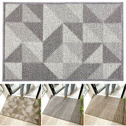 Floor Modern Door Mat Absorbent Rug Dust Resistant Home Entrance Non Slip Indoor $31.55