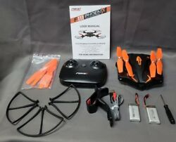 Force1 PHOENIX F111 Foldable Drone with Camera Quadcopter $59.99