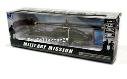 Apache Helicopter Boeing AH 46 Green 1 55 scale Diecast Military Mission $33.72