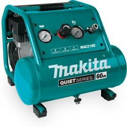 Makita Oil Free Electric Air Compressor Compact Quiet 60Db 1HP 2 Gal Tool Only $240.17